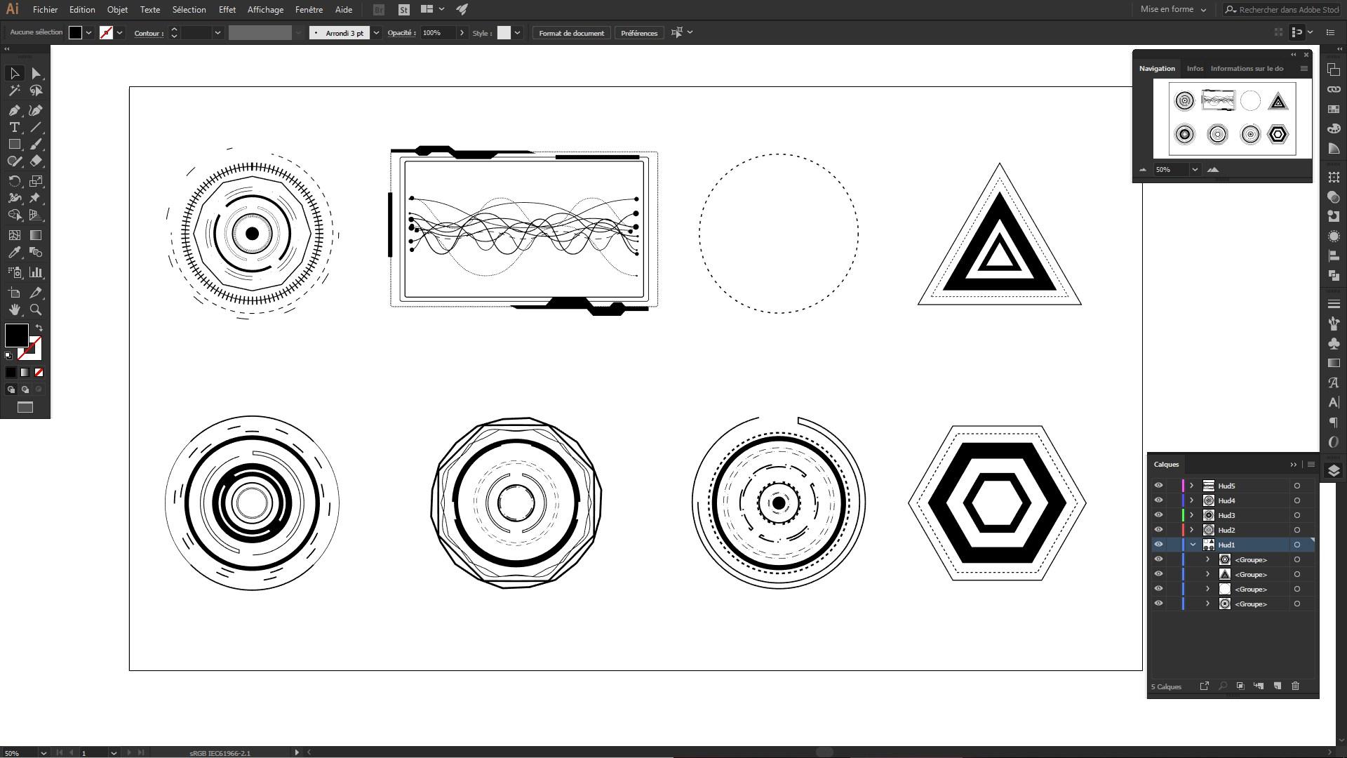 UI Motion Design Vector