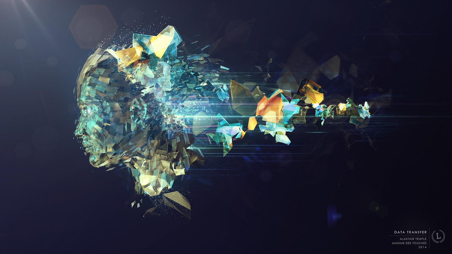 Data Transfer Illustration artworks