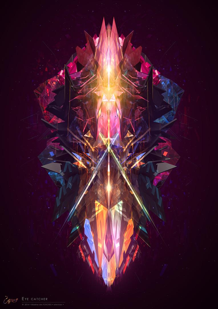 Eyecatcher 3d artwork