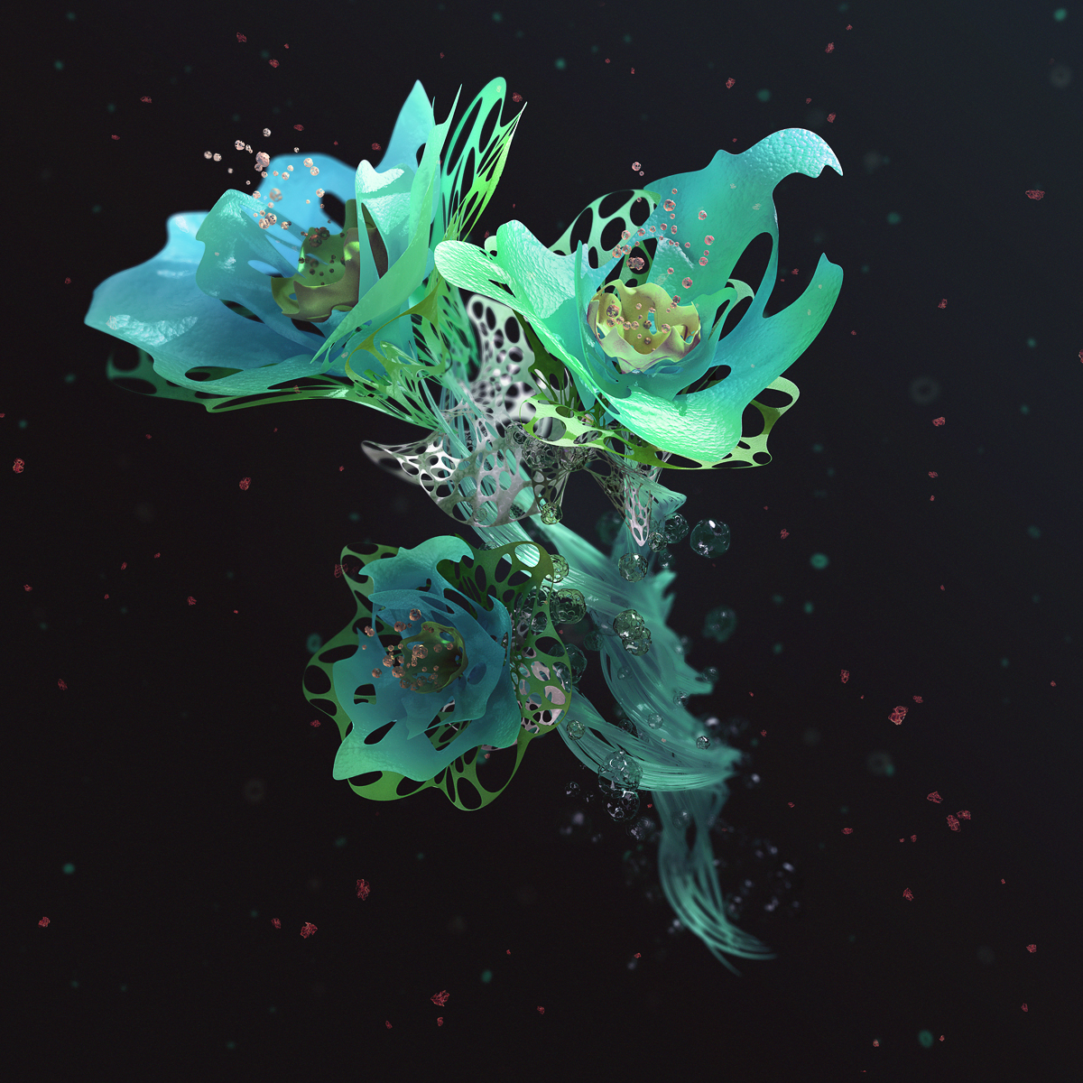 Liliopsid - Bioshap3d 3D project