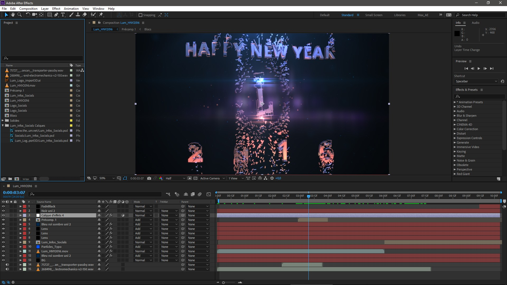 After Effects project screenshot
