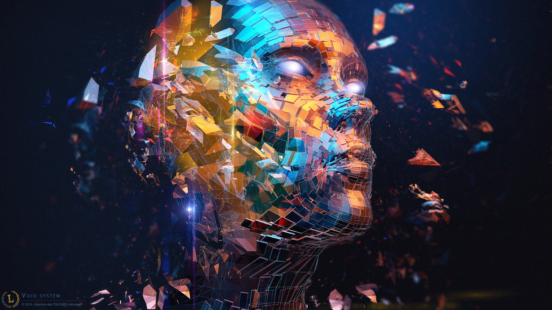 Void System 3d artwork