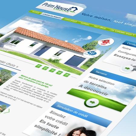 Agency Web design Prim House 2012