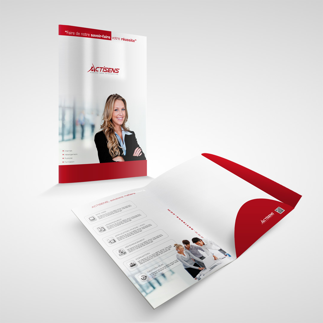 Agency communication prints for Actisens
