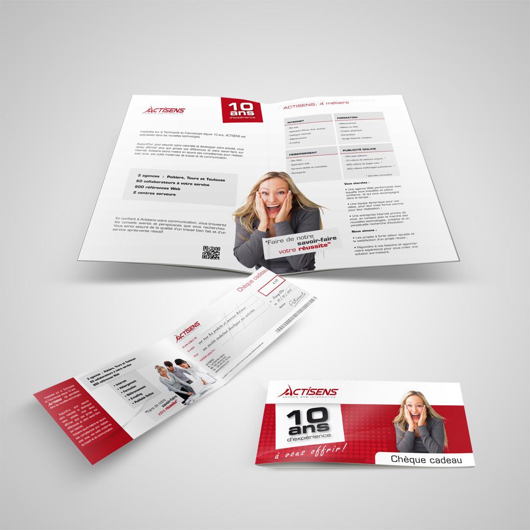 Actisens Print flyers
