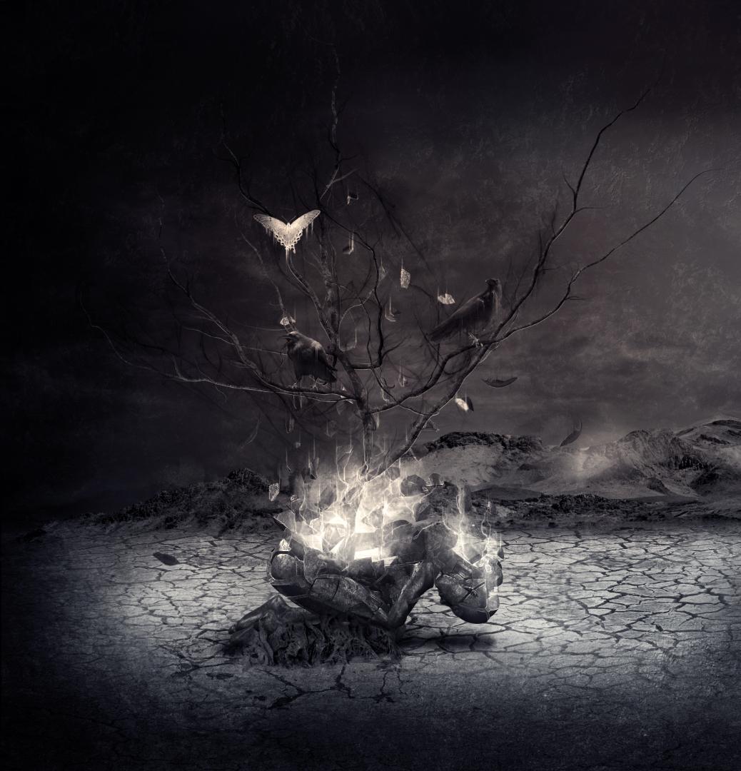 Apotheus music band inner artwork