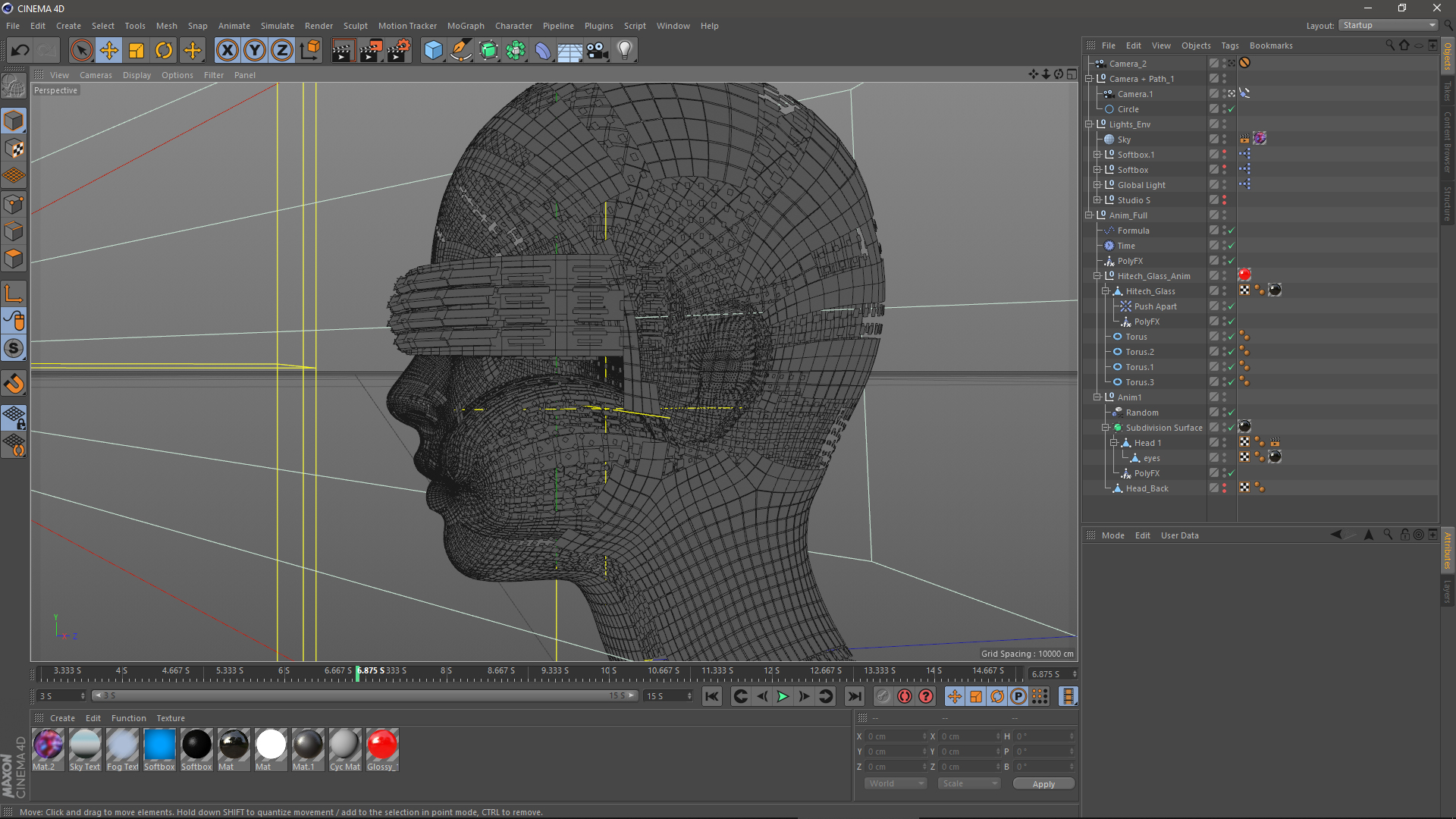 DataLizer motion design Cinema 4D Mograph tools