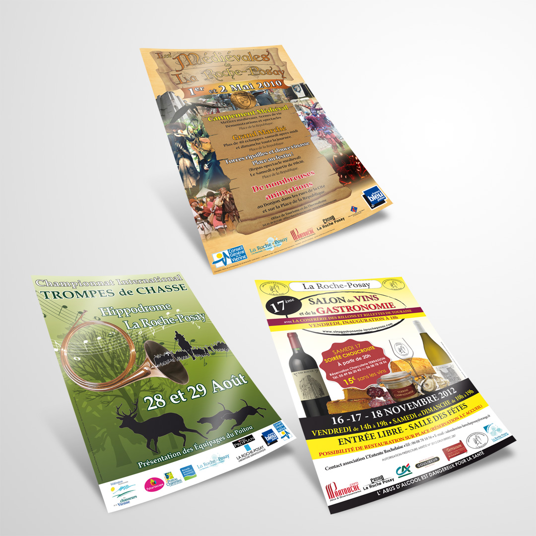Event posters 2009-2012