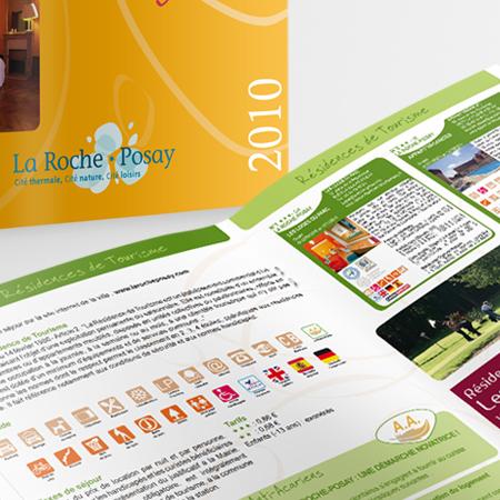 Print brochures La Roche-Posay