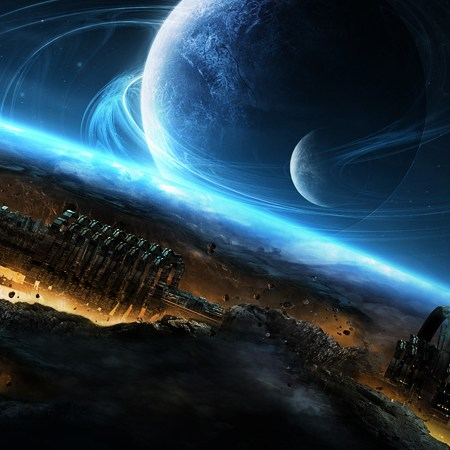 Science fiction artworks 2010-2014
